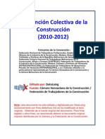Convencion Colectiva Construccion 2010-2012 Recopilada Por d