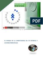 Interfaz, Manejo y Acciones Principales de La XO
