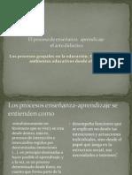 Presentación No. 1 El proceso de enseñanza- aprendizaje