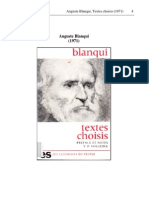 Louis-Auguste Blanqui - Textes Choisis