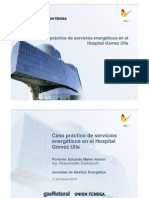 Caso Practico de Servicios Energeticos en El Hospital Gomez Ulla