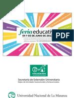 Carpeta Feria Educativa