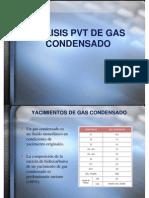 Analisis PVT de Gas Condensado Tatiana