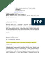 Anteproyecto - EVALUACIÓN DE LA FUNCIÓN DE LOS PARQUES URBANOS EN EL BIENESTAR DE LA POBLACIÓN HUMANA DE BOGOTÁ D C