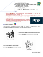 Worksheet 1 9th Grade II Term - Passive Voice
