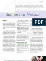 Business as Mission - YWAM