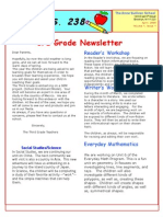 3rd Grade April Newsletter