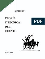 Anderson Imbert, Enrique_Teoría y técnica del cuento