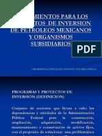 1.2.1 Exposicion Proyectos de Inversion