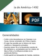 Conquista de América-1492
