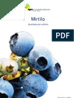 Mirtilo - Qualidade pós-colheita