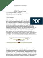 FABRICACIÓN DE UN ARCO TRADICIONAL TIPO FLATBOW