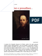 Jean Bancal__tolstoi e Proudhon
