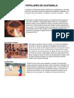 Juegos y Juguetes Populares de Guatemala