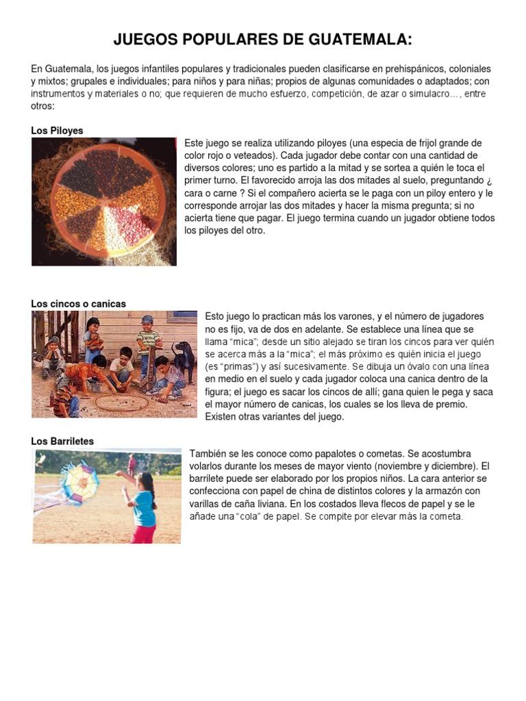 Juguetes Populares Guatemala Y De Juegos 6bgfy7 redoWCQxB