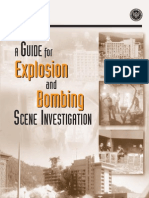 A Guide for Explosion and Bombing Scene Investigation