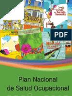 Plan Nacional de Salud Ocupacional 2008 2012