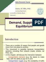 Economic - Demand Supply Market Equilibrium Final 112012