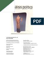 Palacios -Populismo Colombia Venezuela Pag33-56 Analisis Politico 39(2002)