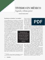 Positivismo en México 2da parte Guadalupe_Alvarez