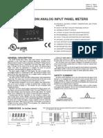 Pax Panel Meter by Redlion