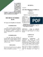 Dto. Nro. 26-92 Ley ISR cr
