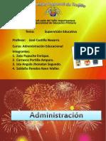 Supervision Educativa (Monografia)