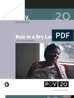 Rain in a Dry Land Discussion Guide - POV