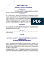Reformas al Código tributario, 23-2002
