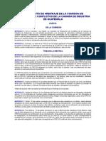 Reglamento de Arbitraje de la Comisión de Resolución de Conflictos de la CRECIG