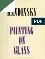 Vasily Kandinsky Painting on Glass Hinterglasmalerei Anniversary Exhibition -1966