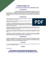 Reglamento de Organización Administrativa del IGSS