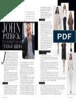 John Patrick interview for Imagen Magazine