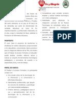 PRESENTACIÓN FE Y ALEGRIA