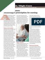 Tablet Computers Technologys Prescription for Nursing