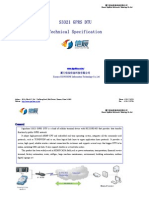 Industrial Serial GPRS RS232 Modem S3321 GPRS DTU Technical Specification