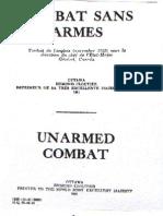 Combat Sans Armes (Unarmed Combat) 1941