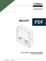 Modulo controlador válvula MIQ_CHV