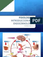 Introduccion a La Endocrinologia