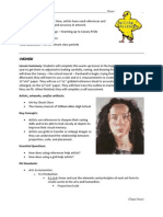 canary lesson plan