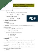 Isomorfismo Entre Los Numeros Racionales y El Subcuerpo de Los Numeros Reales