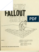 Family Nuclear Fallout Shelters