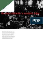 De esto contaréis a vuestros hijos, Un libros sobre el holocautos en Europa,1933-1945