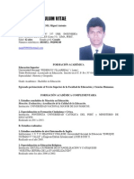 Curriculum Vitae2013