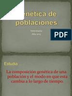 Clase Genética de poblaciones