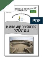Plan de Estudios Caral 2013