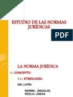 Estudio de las Normas Jurídicas