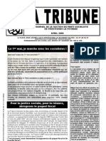 TribunePS FLP avril 2009