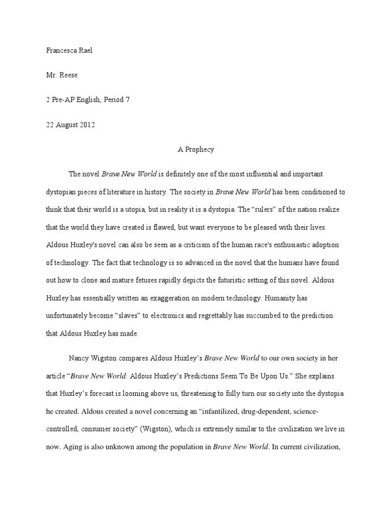 Essay narrative short