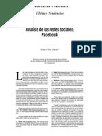 Análisis de las redes sociales